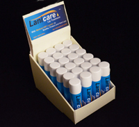 24 Lanicare™ Solid Blend™ Tubes of Lanolin Based Lip and Skin Balm
